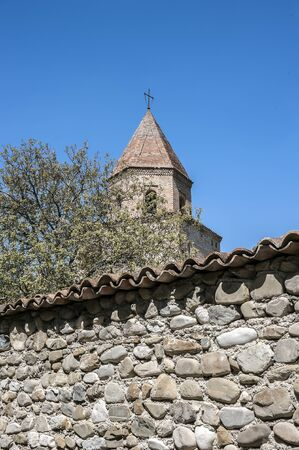 sacral: Georgia, Kakheti , New Shuatma convent , founded in the 16th century .