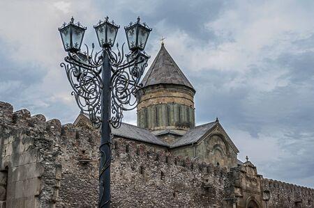 11th century: Georgia, Mtskheta - the spiritual heart of Georgia. Svetitskhoveli Cathedral , built by the 11th century s .