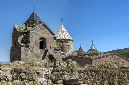 Armenia, a general view of the monastery complex Goshavank, built in the eleventh to twelfth centuries.