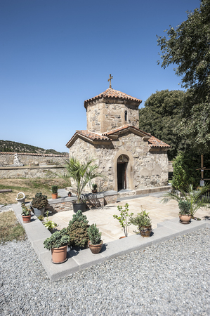 The Samtavro Monastery is a complex of the Samtavro - Transfiguration Church and the St. Nina Female Convent located at the confluence of the Mtkvari and Aragvi Rivers (Mtskheta, Georgia).