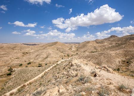 The threshold of the Sahara desert.