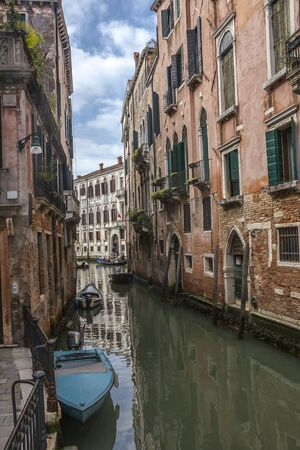 Italy. Venice is one of the most unusual and beautiful cities in the world. Narrow channels - the streets often do not even have sidewalks. Movement only by water transport - gondolas or boats.