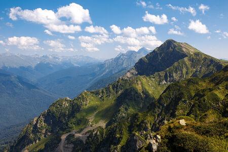 Peak Mountain Aibka, Krasnaya Polyana, Sochi, Russia, 2509 m