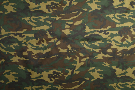 Green Camouflage pattern background for hunting or fishing and Military clothes 스톡 콘텐츠