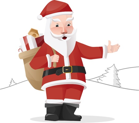 illustation: Santa Claus Illustation