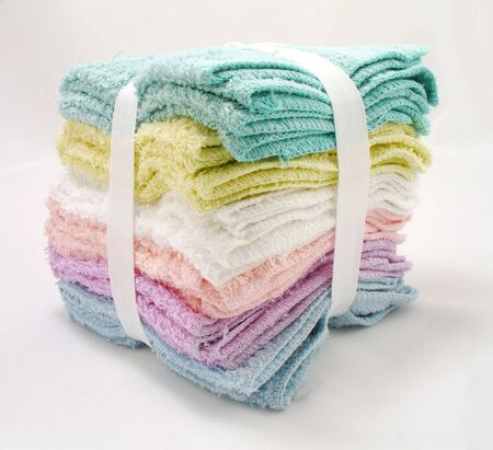 wash clothes of different colors