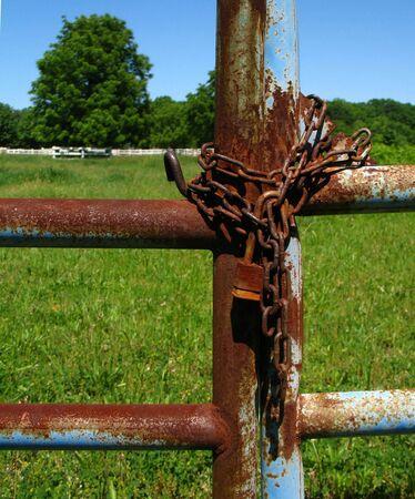 rusty lock close up photo