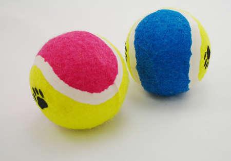coloful: coloful tennis balls