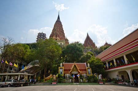 Wat Thum sue a beautiful antique temple in Karnchanaburi, Thailand