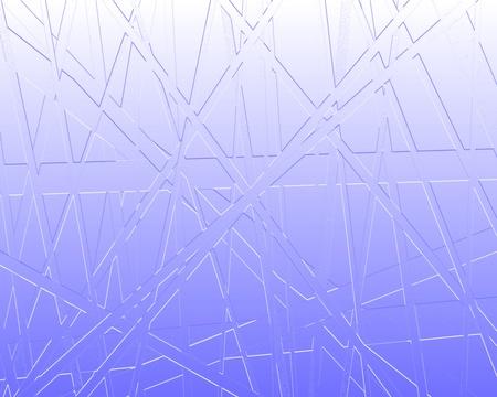 increasingly: Linee rette vengono posizionate in maniera astratta sovrapposti su un fondale sempre pi� leggeri.