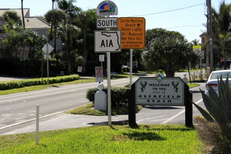 median age: DEERFIELD BEACH, FLORIDA - FEBRUARY 1:  The median age of the population of this community is 45 years with a 2010 per capita income of around $24,000  in February 1, 2013 in Deerfield Beach, Florida