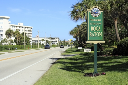 estimated: BOCA RATON, FLORIDA - FEBRUARY 1: The population of Boca Raton was estimated in 2012 to be 87,836 people with over 21% of those people over age 65 on February 1, 2013 in Boca Raton, Florida.
