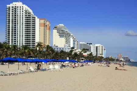 FORT LAUDERDALE, FLORIDA - FEBRUARY 3  Over twelve million visitors visited Broward County in 2012 and 2013 visitors are expected to be thirteen million on February 3, 2013 in Fort Lauderdale, Florida Stock Photo - 23851230
