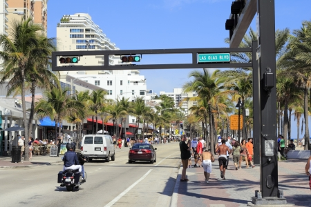 FORT LAUDERDALE, FLORIDA - FEBRUARY 3  Over 167,000 people live here and over 500,000 cooler weather visitors called snowbirds visited the county in 2010 on February 3, 2013 in Ft Lauderdale, Florida