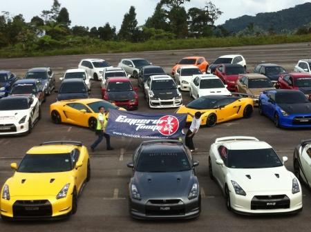 lamborghini: car show