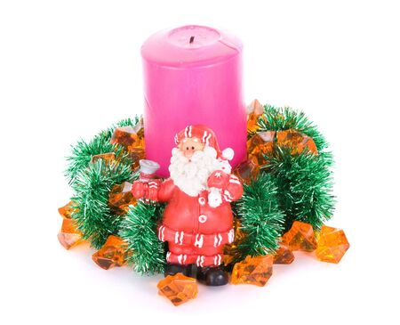 Santa Clause new year composition Stock Photo - 6190554