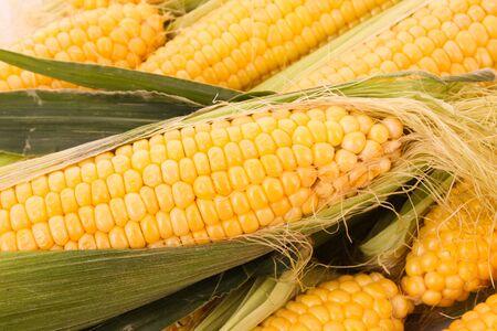 few: Few yellow corn