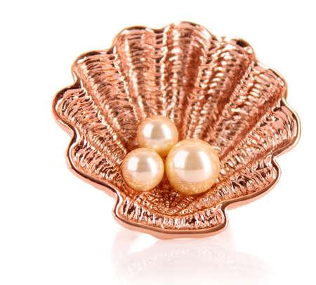 piedras preciosas: Adorno de joyas de oro aislado en blanco