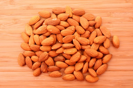 Almonds background Stock Photo - 8914799