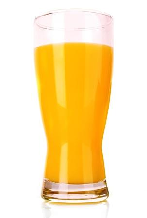Orange juice isolated on white Stock Photo - 9281533