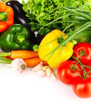 berenjena: hortalizas aislados en blanco Foto de archivo