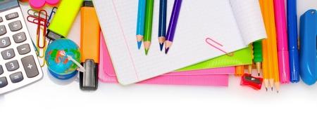 ball pens stationery: Diferentes diseños de fondo colorido aislados en blanco