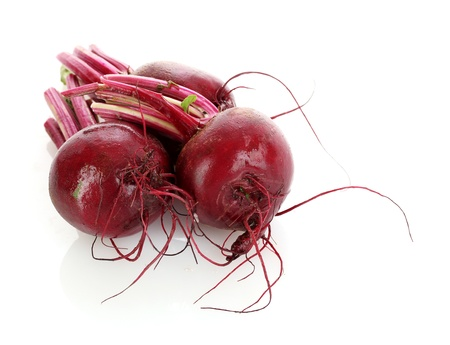 beet isolated on white Stock Photo
