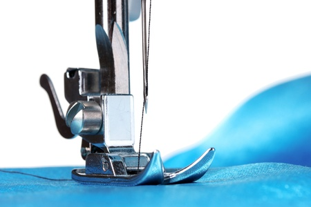 maszyna do szycia i element ubioru