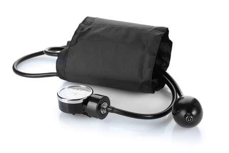 Black tonometer isolated on white Stock Photo - 12564491
