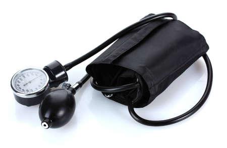Black tonometer isolated on white Stock Photo - 12564443