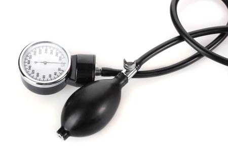 tonometer isolated on white photo