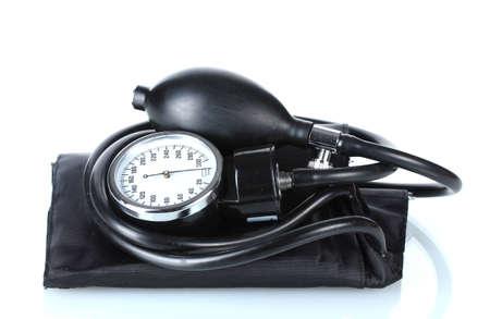 Black tonometer isolated on white Stock Photo - 12564087