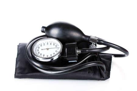 Black tonometer isolated on white Stock Photo - 12664319