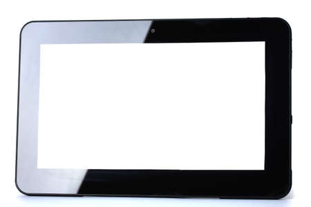 Tablet isolated on white Stock Photo - 12663970