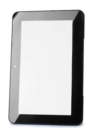Tablet isolated on white Stock Photo - 12664132