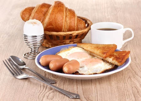 Classical breakfast photo