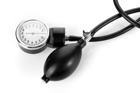 tonometer isolated on white Stock Photo - 12912811