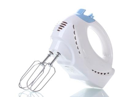 batteur �lectrique: m�langeur �lectrique isol� sur blanc
