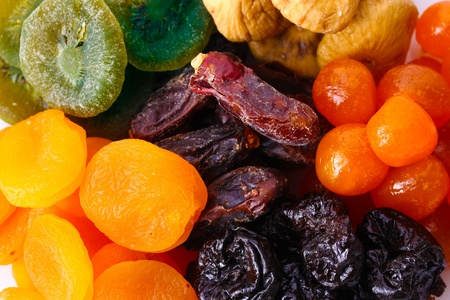 Dried fruits close up Stock Photo - 13180260