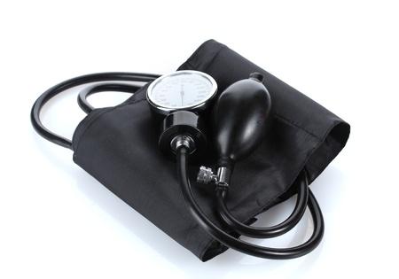 Black tonometer isolated on white Stock Photo - 13435474