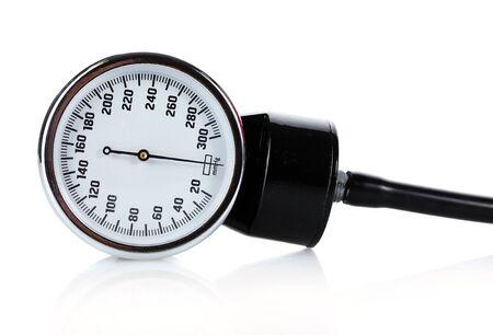 tonometer isolated on white Stock Photo - 13435203