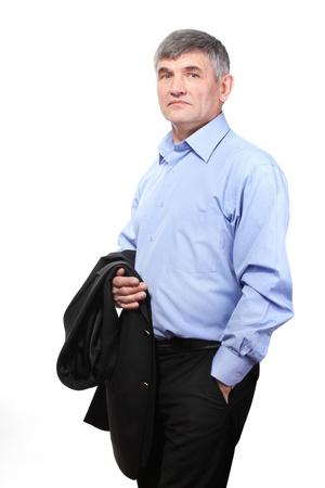 businessman isolated on white Stock Photo - 13435538