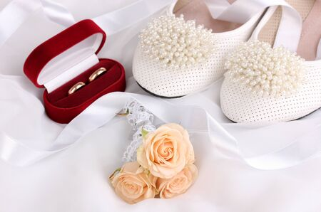 Wedding accessories photo