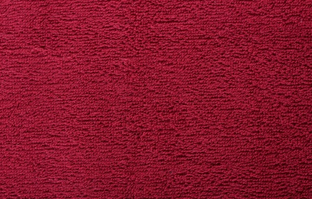 red bright towel close up Stock Photo - 13667187