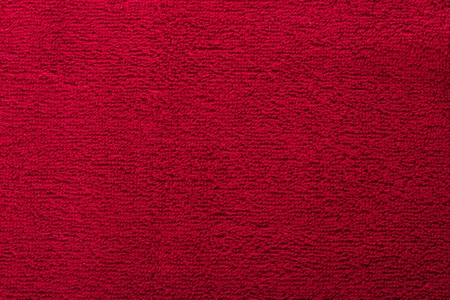 red bright towel close up Stock Photo - 13944692