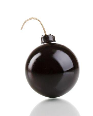 Cartoon style bomb isolated on white Stock Photo - 13940527