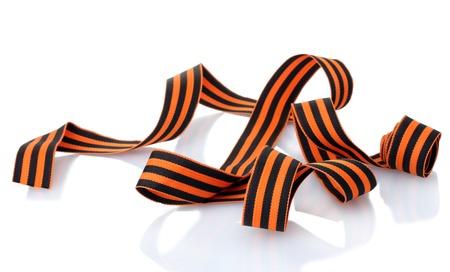 ribbon isolated on white photo