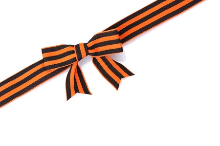 St. George ribbon isolated on white Stock Photo - 14065060