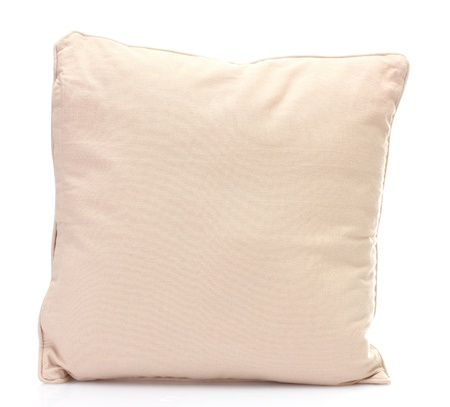 pillow isolated on white photo