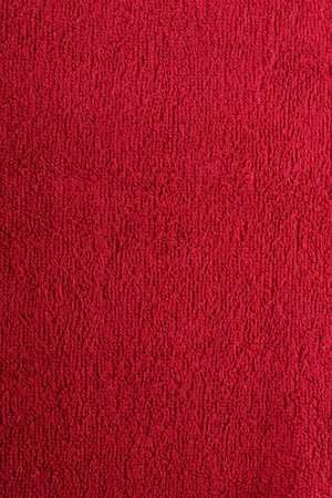 red bright towel close up Stock Photo - 14156944